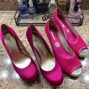 Pink heel bundle